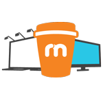 premium coffee cup advertising brand exposure icon